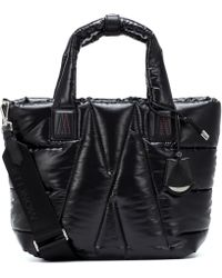 Moncler Powder Quilted Tote - Black
