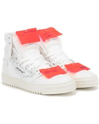 Off-White c/o Virgil Abloh Sneakers Off-Court 3.0 in pelle - Bianco