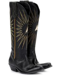 Golden Goose Deluxe Brand - Wish Star Leather Cowboy Boots - Lyst