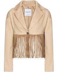 Alaïa Edition 1988 blazer de algodón - Multicolor