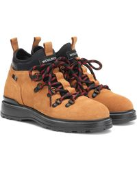 Woolrich Suede Ankle Boots - Multicolor