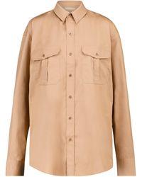 WARDROBE.NYC Camisa de algodón - Neutro