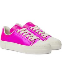 Tom Ford Sneakers City aus Satin - Pink