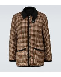 Mackintosh Waverly Checked Jacket - Brown