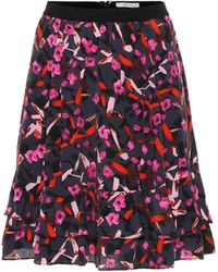 Dorothee Schumacher Abstract Flowering Floral Miniskirt - Multicolor