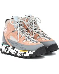 Acne Studios Zapatillas Bertrand de gamuza - Multicolor
