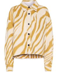 Isabel Marant Hanao Virgin Wool Shirt - Yellow