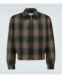 Dries Van Noten Checked Wool Jacket - Multicolour