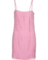 Givenchy Minikleid 4G aus einem Wollgemisch - Pink