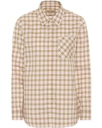 87382bf4ad7fe3 Burberry - Checked Cotton Shirt - Lyst