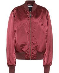 Balenciaga Bomber Jacket - Red