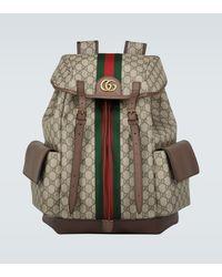 Gucci Mochila Ophidia GG Medium - Multicolor
