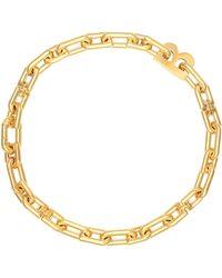 Balenciaga Collana B Chain - Metallizzato