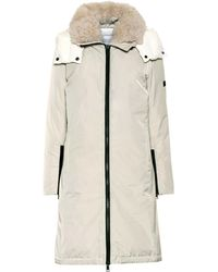 Yves Salomon - Army Shearling-trimmed Down Parka - Lyst