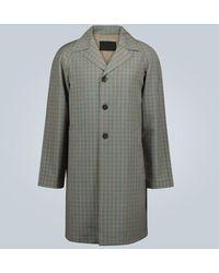 Prada Cappotto in lana e mohair - Multicolore