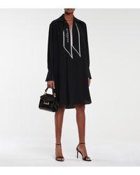 Givenchy Silk Crêpe Dress - Black