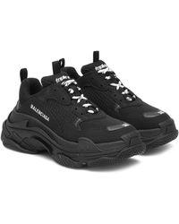 Balenciaga Sneaker TRIPLE S - Schwarz