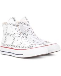 JW Anderson - X Converse Chuck 70 Logo-print Trainers - Lyst