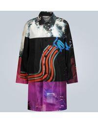 Dries Van Noten Cappotto stampato - Multicolore
