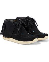 Visvim Fbt Lhamo Folk Shoes - Black