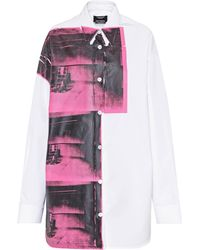 CALVIN KLEIN 205W39NYC - X Andy Warhol Printed Cotton Shirt - Lyst