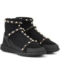 Valentino Sneakers Rockstud - Schwarz