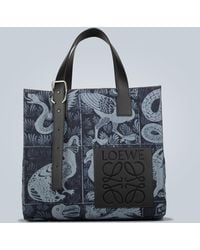 Loewe Buckle Tiles Tote Bag - Multicolor