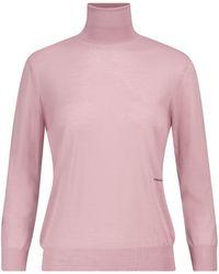 Prada Jersey de lana de cuello alto - Neutro