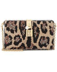 Dolce & Gabbana Clutch Dolce Box con cristalli - Multicolore