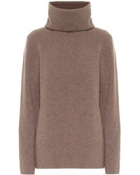Ernest Leoty Ombeline Merino Wool-blend Sweater - Brown