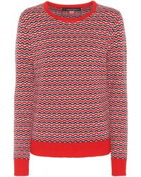 Perfect Moment - Frequency Zigzag-intarsia Wool-knit Jumper - Lyst