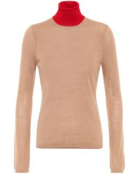 Gabriela Hearst Exclusive To Mytheresa – Bi-costa Cashmere And Silk Sweater - Natural