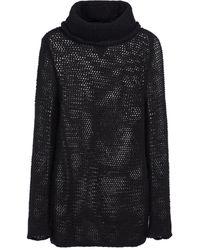 Ann Demeulemeester Pull Astrid en cachemire et laine - Noir