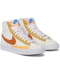 Nike Blazer '77 Leather Sneakers - White