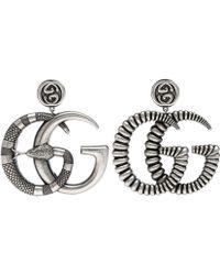 Gucci GG Clip-on Earrings - Metallic