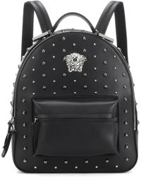 Versace | City Stud Palazzo Empire Backpack | Lyst