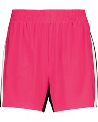 Norma Kamali Boyfriend Stretch-jersey Shorts - Pink