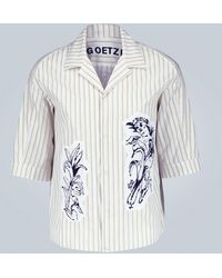 Goetze - Striped Ted Shirt - Lyst