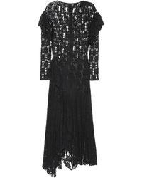 Étoile Isabel Marant Robe Vally en dentelle - Noir