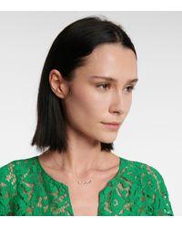 Suzanne Kalan Halskette Frenesia Rainbow aus 14kt Gelbgold - Mettallic