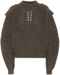 Isabel Marant Pullover Kevy in lana - Multicolore
