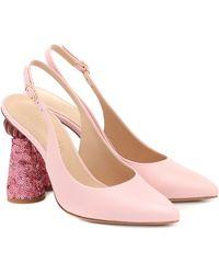 Jacquemus Les Chaussures Loiza Leather Pumps - Pink