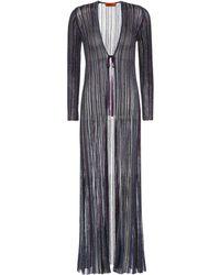 Missoni - Striped Coat - Lyst