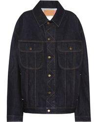 Acne Studios - Blå Konst chaqueta de jean Lamp - Lyst
