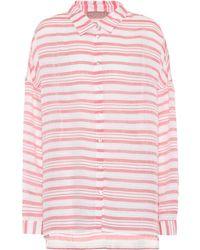 81hours Federic Striped Shirt - White