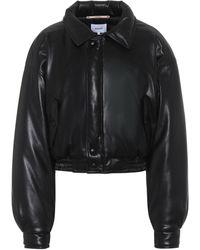Nanushka Bomi Faux-leather Jacket - Black