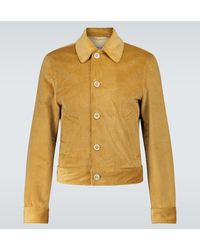 Marni Jacke aus Baumwollcord - Mehrfarbig