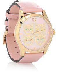 Gucci Reloj G-Timeless 38 mm de piel - Multicolor