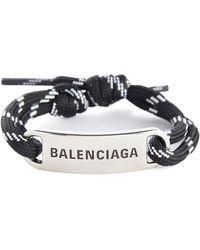 Balenciaga Armband - Schwarz