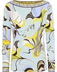 Emilio Pucci - Printed Top - Lyst
